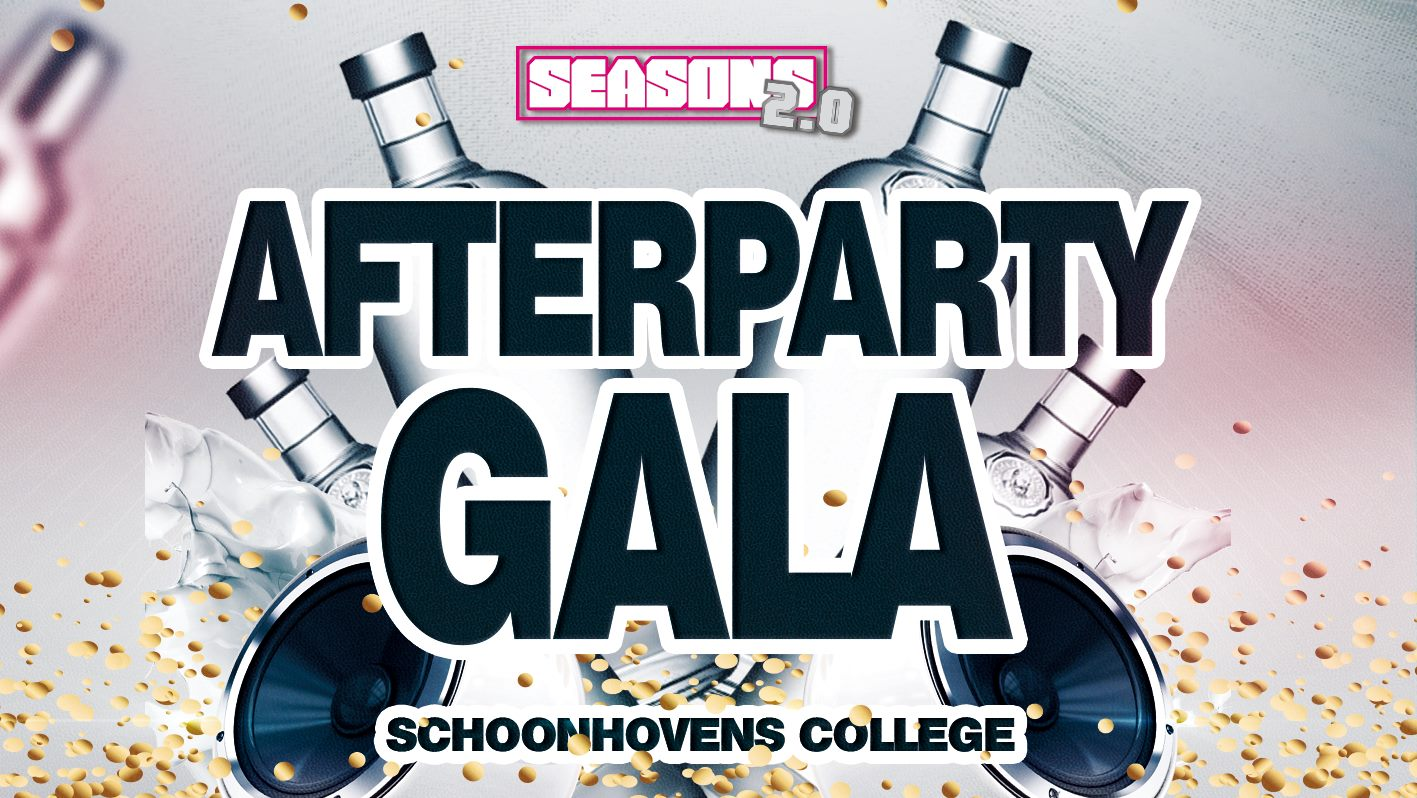 Vrijdag 25 mei | Afterparty Gala